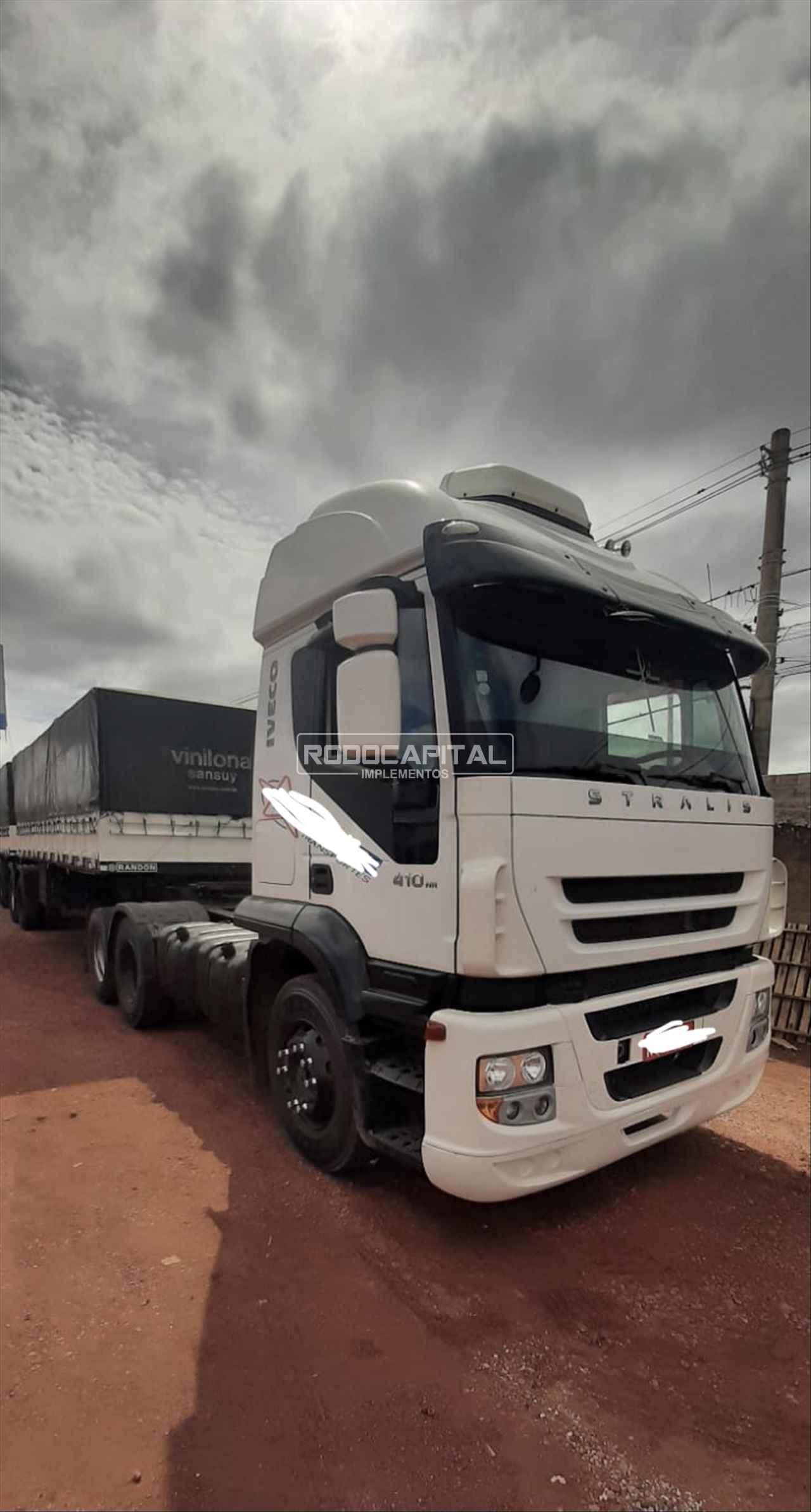 CAMINHAO IVECO STRALIS 410 Cavalo Mecânico Truck 6x2 RODOCAPITAL - TRUCKVAN BRASILIA DISTRITO FEDERAL DF