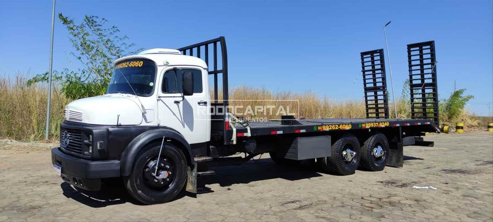 CAMINHAO MERCEDES-BENZ MB 1113 Plataforma Truck 6x2 RODOCAPITAL - TRUCKVAN BRASILIA DISTRITO FEDERAL DF
