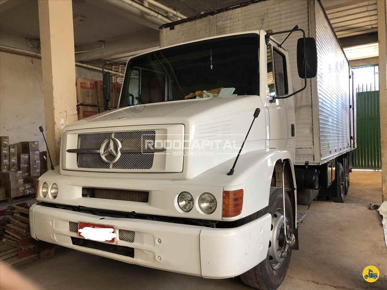 CAMINHAO MERCEDES-BENZ MB 1620 Baú Furgão Truck 6x2 RODOCAPITAL - TRUCKVAN BRASILIA DISTRITO FEDERAL DF