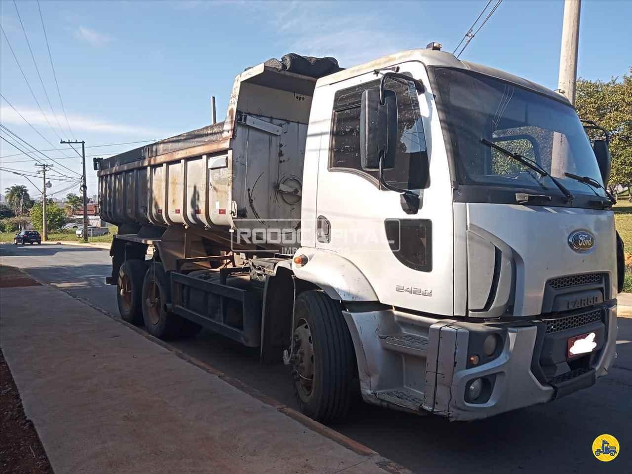 CAMINHAO FORD CARGO 2428 Caçamba Basculante Truck 6x2 RODOCAPITAL Implementos BRASILIA DISTRITO FEDERAL DF