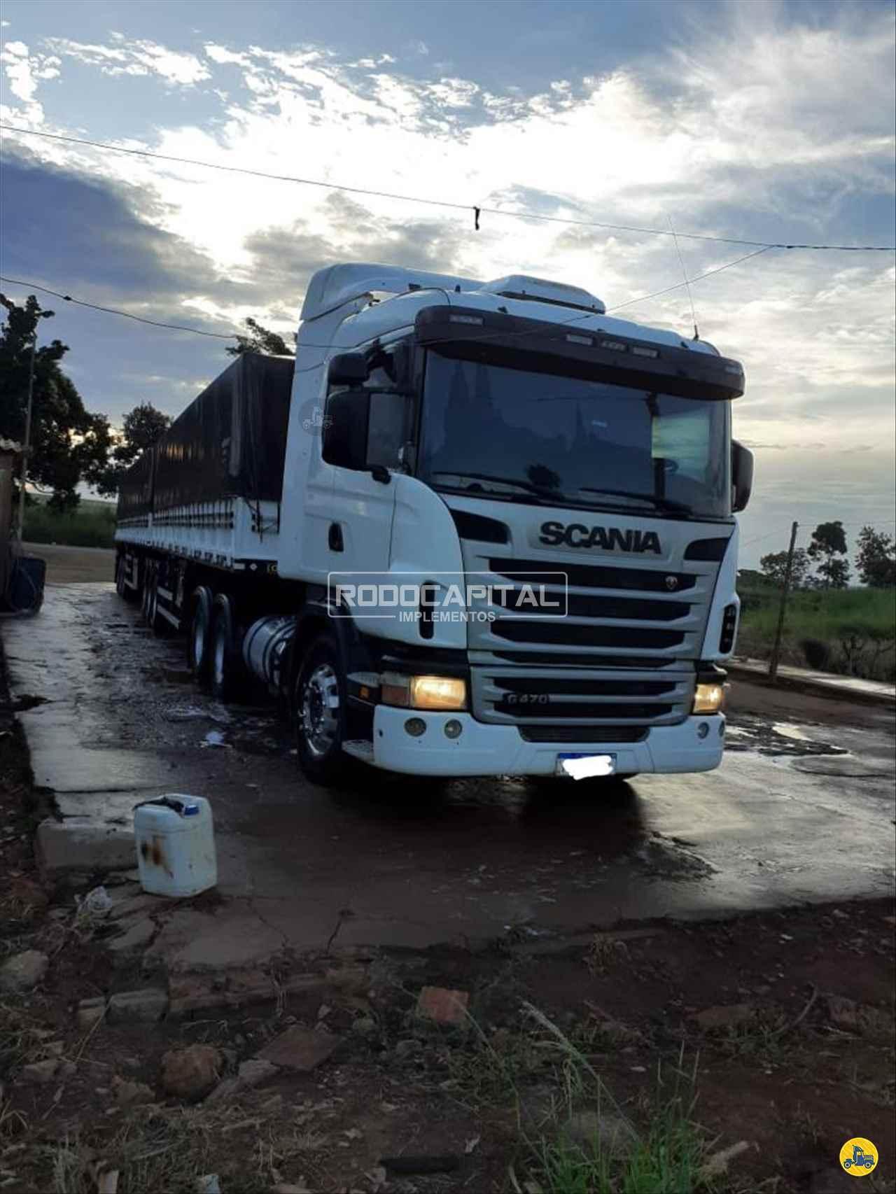 CAMINHAO SCANIA SCANIA 470 Cavalo Mecânico Traçado 6x4 RODOCAPITAL - TRUCKVAN BRASILIA DISTRITO FEDERAL DF
