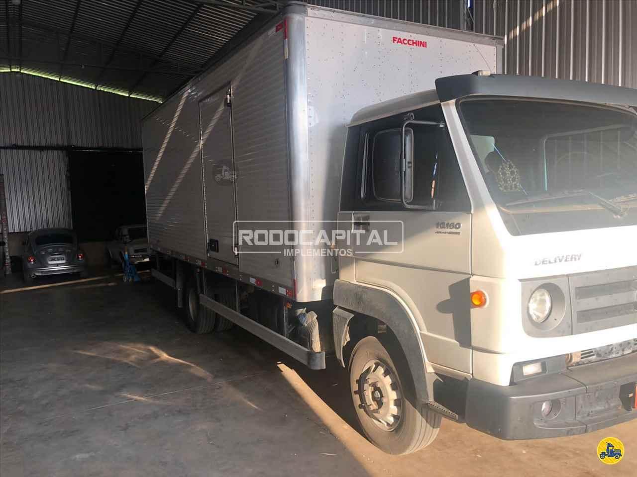 CAMINHAO VOLKSWAGEN VW 10160 Baú Furgão Toco 4x2 RODOCAPITAL - TRUCKVAN BRASILIA DISTRITO FEDERAL DF