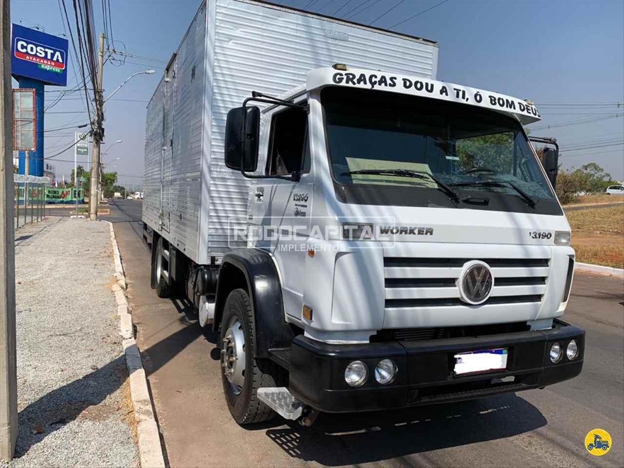 CAMINHAO VOLKSWAGEN VW 13190 Baú Furgão Toco 4x2 RODOCAPITAL - TRUCKVAN BRASILIA DISTRITO FEDERAL DF