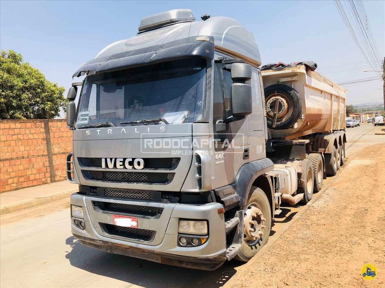 CAMINHAO IVECO STRALIS 440 Cavalo Mecânico Traçado 6x4 RODOCAPITAL - TRUCKVAN BRASILIA DISTRITO FEDERAL DF