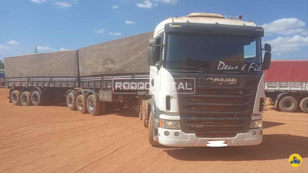 CAMINHAO SCANIA SCANIA 420 Cavalo Mecânico Traçado 6x4 RODOCAPITAL - TRUCKVAN BRASILIA DISTRITO FEDERAL DF