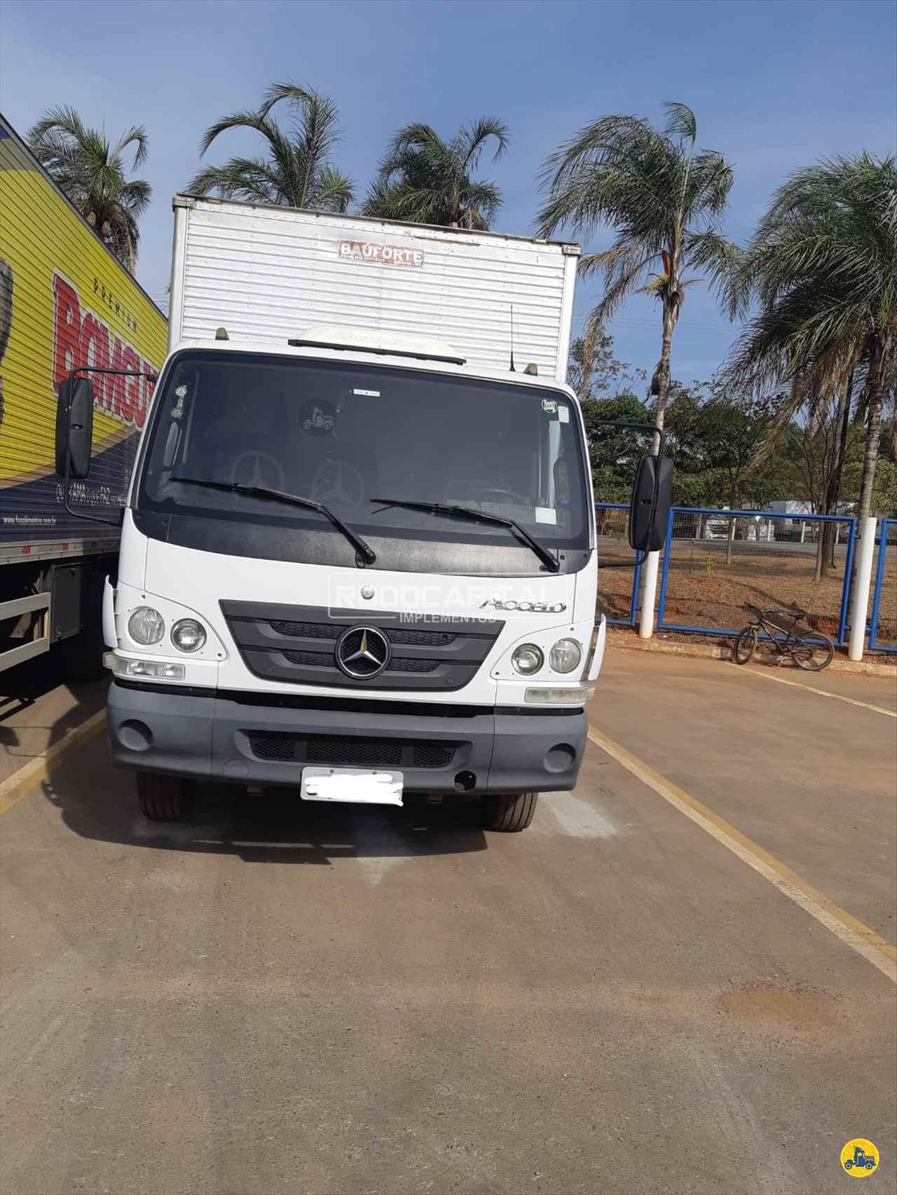 CAMINHAO MERCEDES-BENZ MB 815 Baú Furgão 3/4 4x2 RODOCAPITAL - TRUCKVAN BRASILIA DISTRITO FEDERAL DF