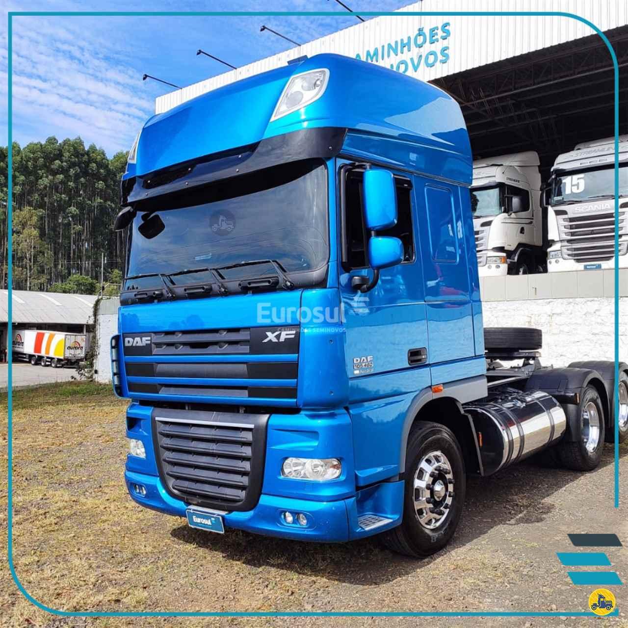 CAMINHAO DAF DAF XF105 460 Cavalo Mecânico Truck 6x2 Eurosul Caminhões Seminovos CONCORDIA SANTA CATARINA SC