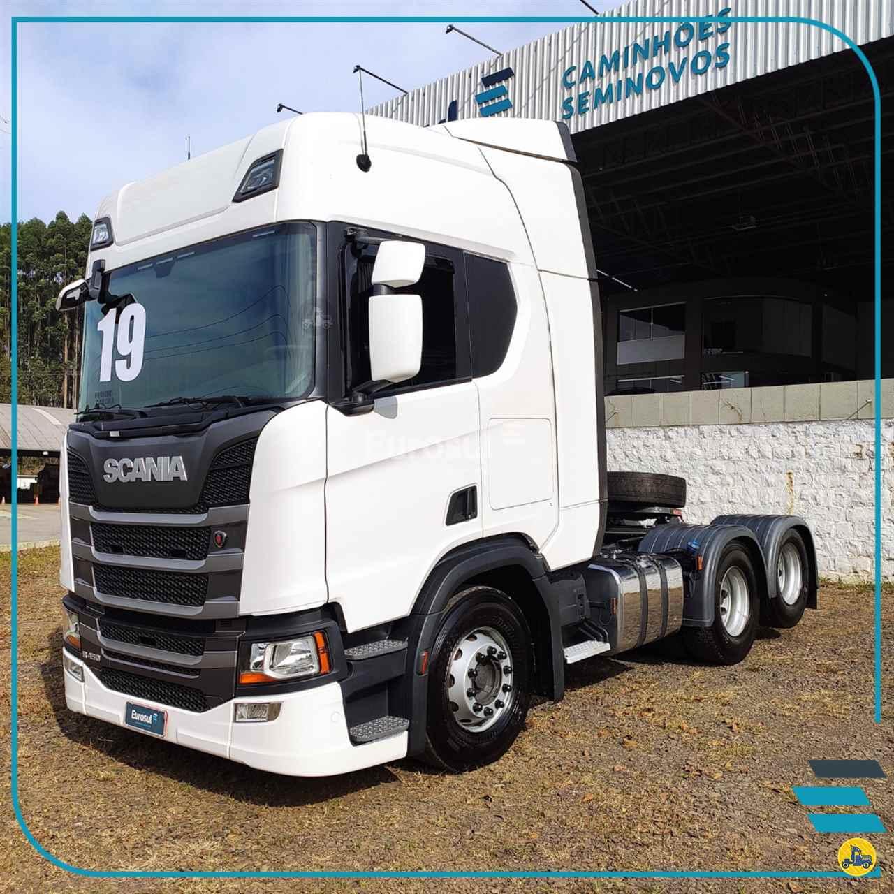 CAMINHAO SCANIA SCANIA 450 Cavalo Mecânico Truck 6x2 Eurosul Caminhões Seminovos CONCORDIA SANTA CATARINA SC