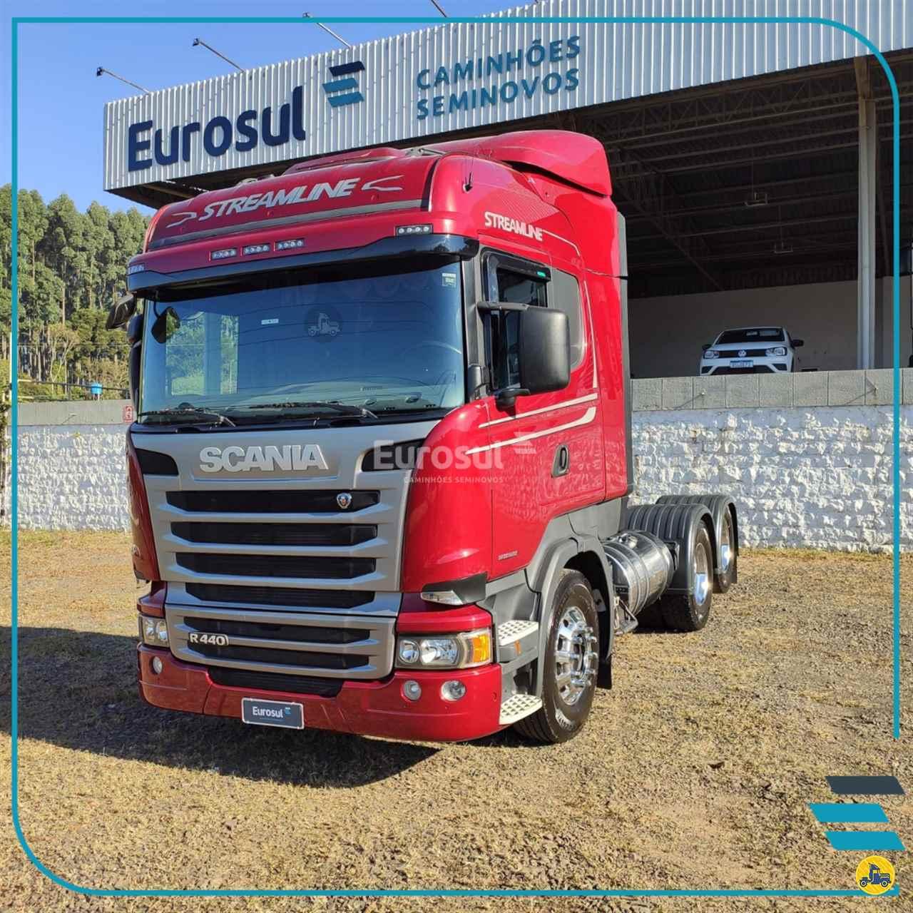 CAMINHAO SCANIA SCANIA 440 Cavalo Mecânico Truck 6x2 Eurosul Caminhões Seminovos CONCORDIA SANTA CATARINA SC