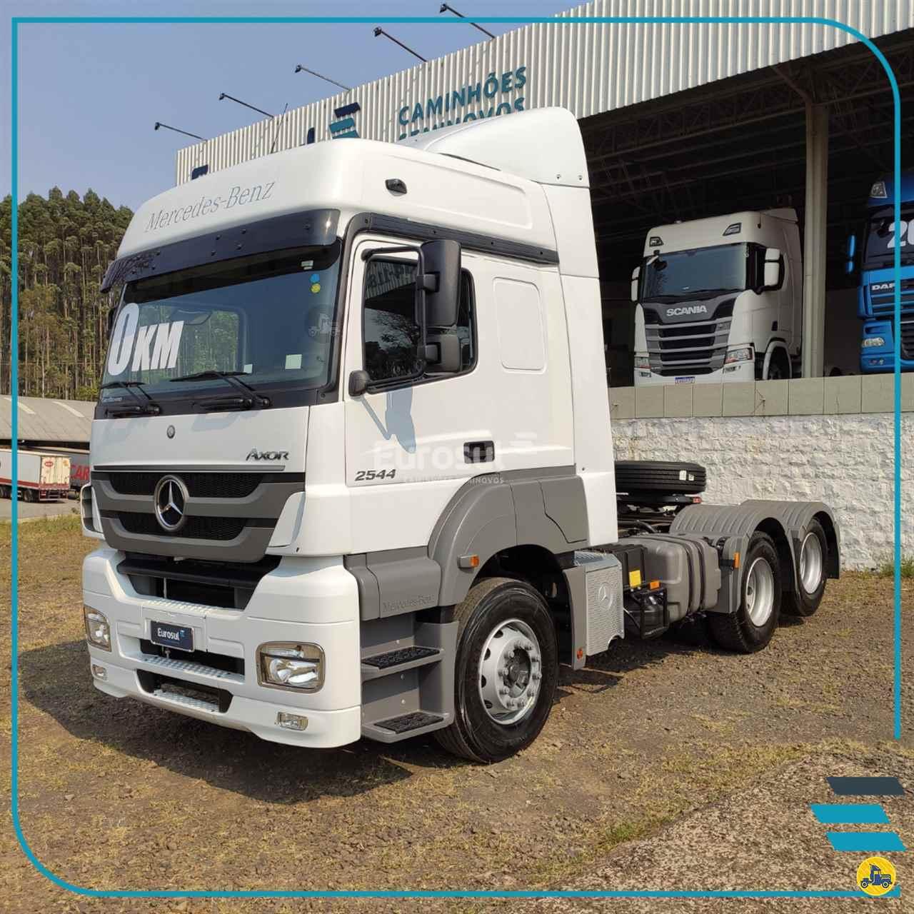 CAMINHAO MERCEDES-BENZ MB 2544 Cavalo Mecânico Truck 6x2 Eurosul Caminhões Seminovos CONCORDIA SANTA CATARINA SC