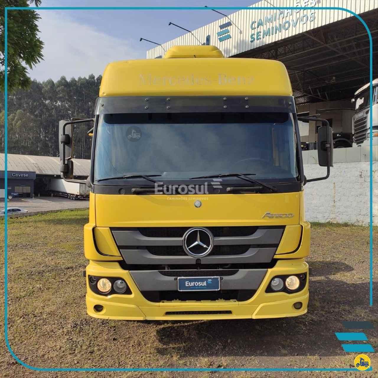 CAMINHAO MERCEDES-BENZ MB 2430 Cavalo Mecânico BiTruck 8x2 Eurosul Caminhões Seminovos CONCORDIA SANTA CATARINA SC
