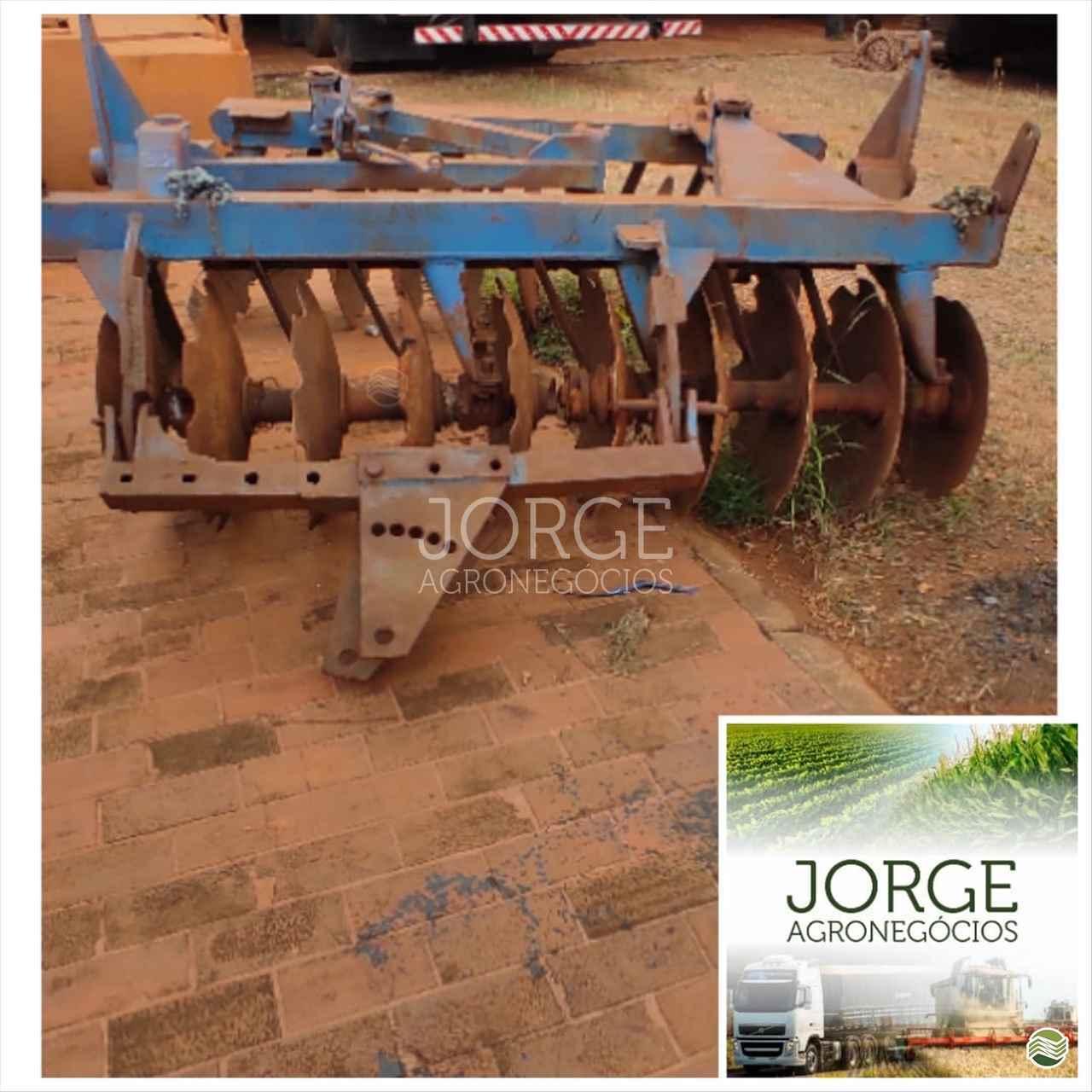 IMPLEMENTOS AGRICOLAS GRADE ARADORA ARADORA 20 DISCOS Jorge Agronegócios NOVA PONTE MINAS GERAIS MG