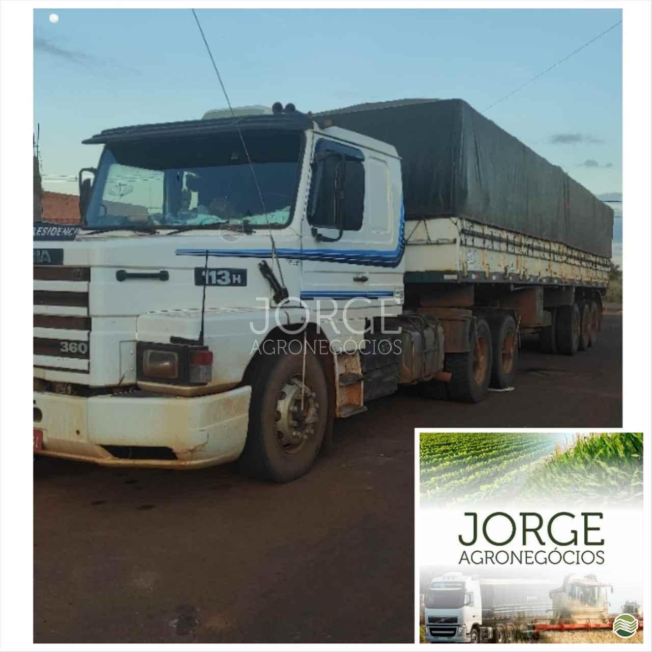 CAMINHAO SCANIA SCANIA 113 360 Graneleiro Truck 6x2 Jorge Agronegócios NOVA PONTE MINAS GERAIS MG