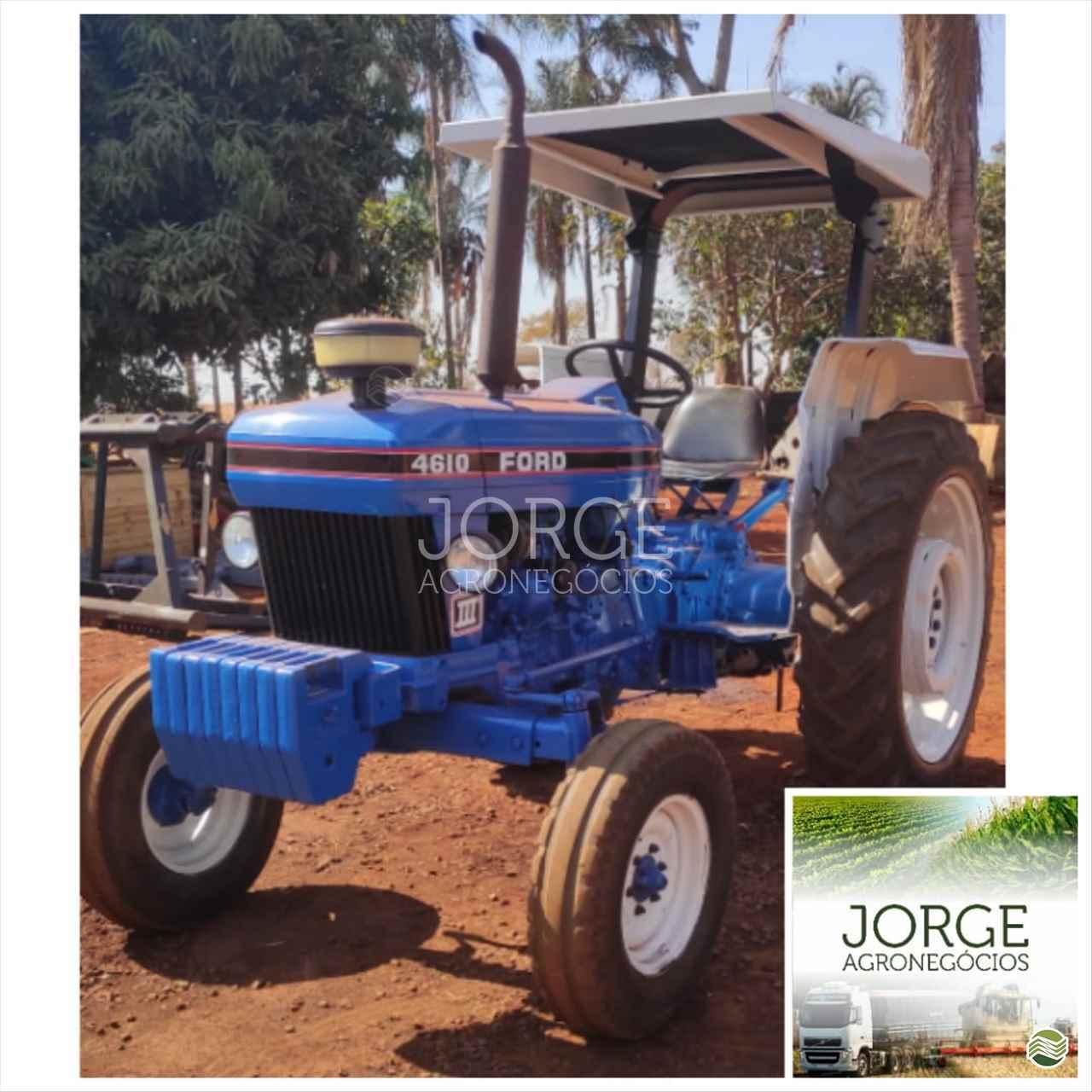 TRATOR FORD FORD 4610 Tração 4x2 Jorge Agronegócios NOVA PONTE MINAS GERAIS MG