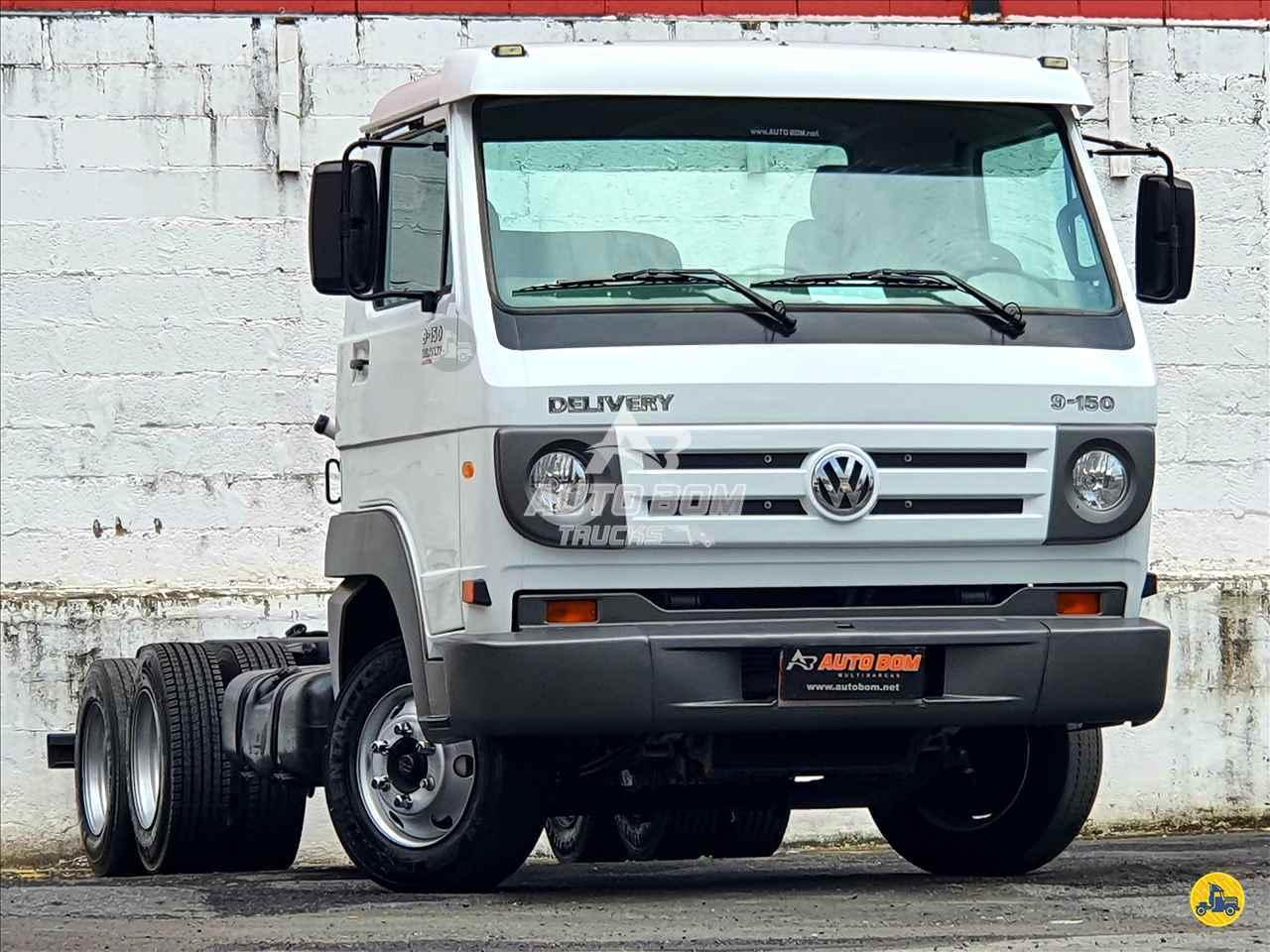 CAMINHAO VOLKSWAGEN VW 9150 Chassis 3/4 6x2 Autobom Trucks CONTAGEM MINAS GERAIS MG