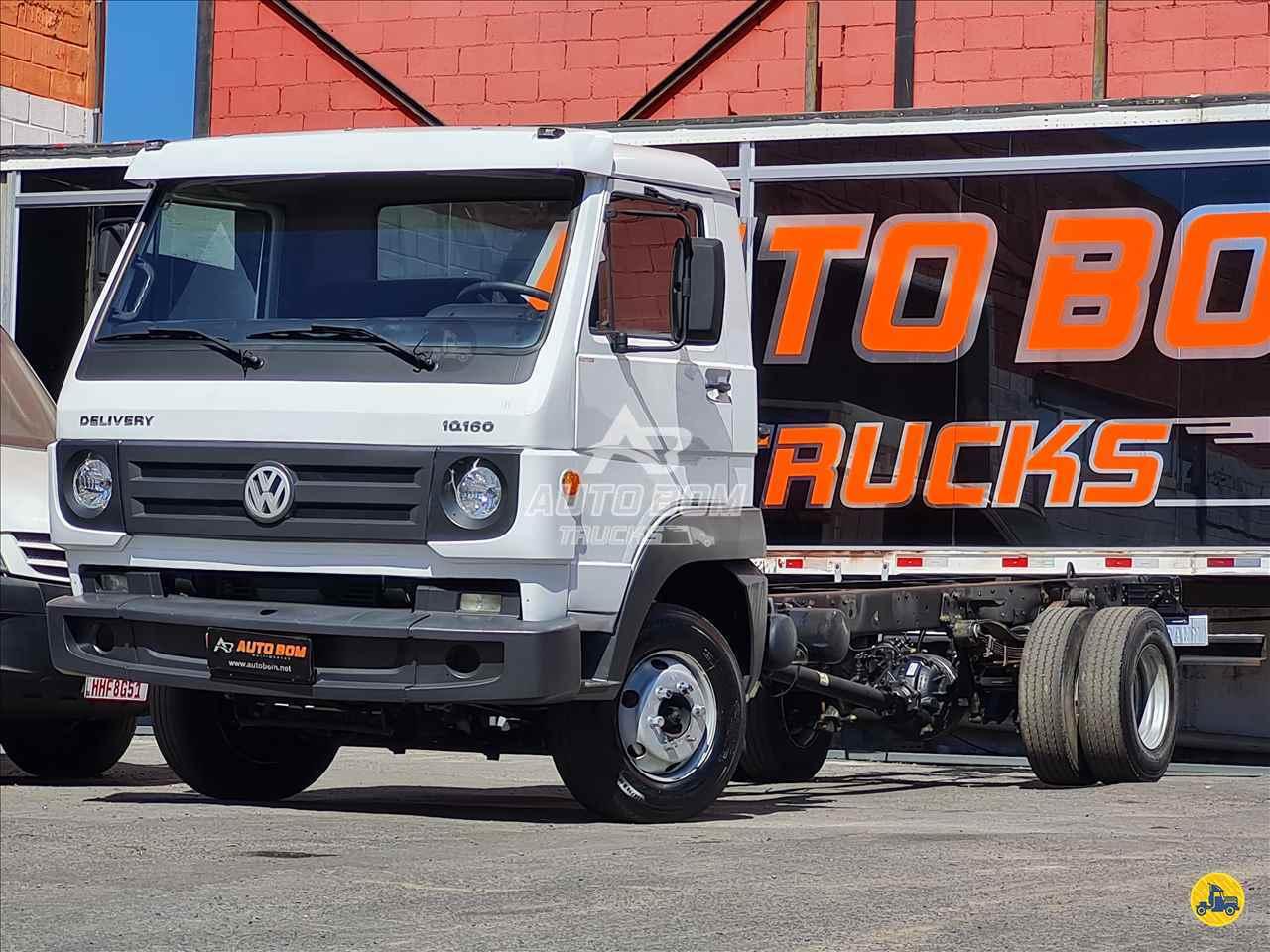 CAMINHAO VOLKSWAGEN VW 10160 Chassis 3/4 4x2 Autobom Trucks CONTAGEM MINAS GERAIS MG