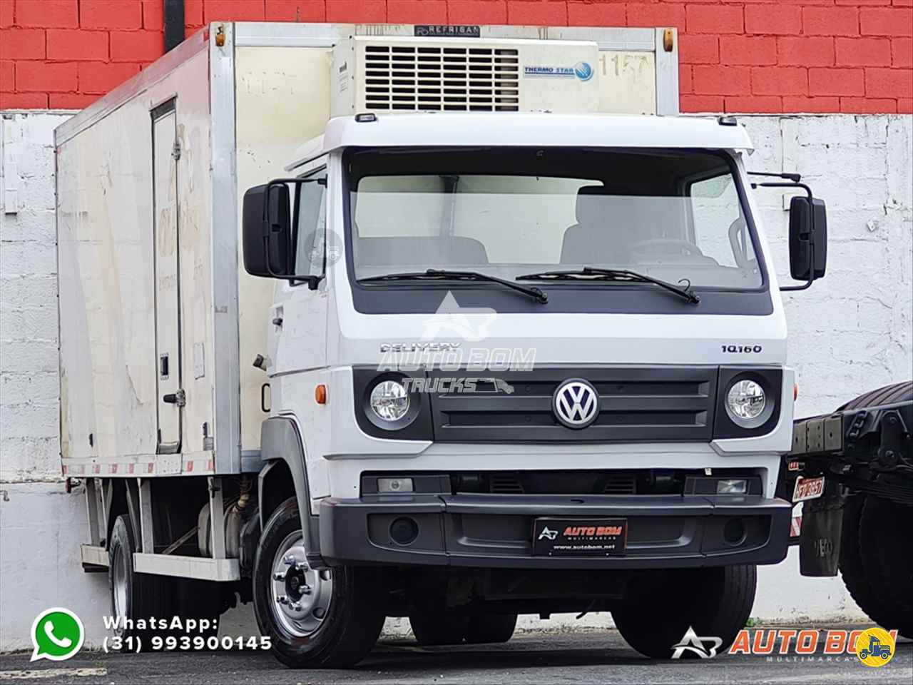 CAMINHAO VOLKSWAGEN VW 10160 Baú Frigorífico 3/4 4x2 Autobom Trucks CONTAGEM MINAS GERAIS MG