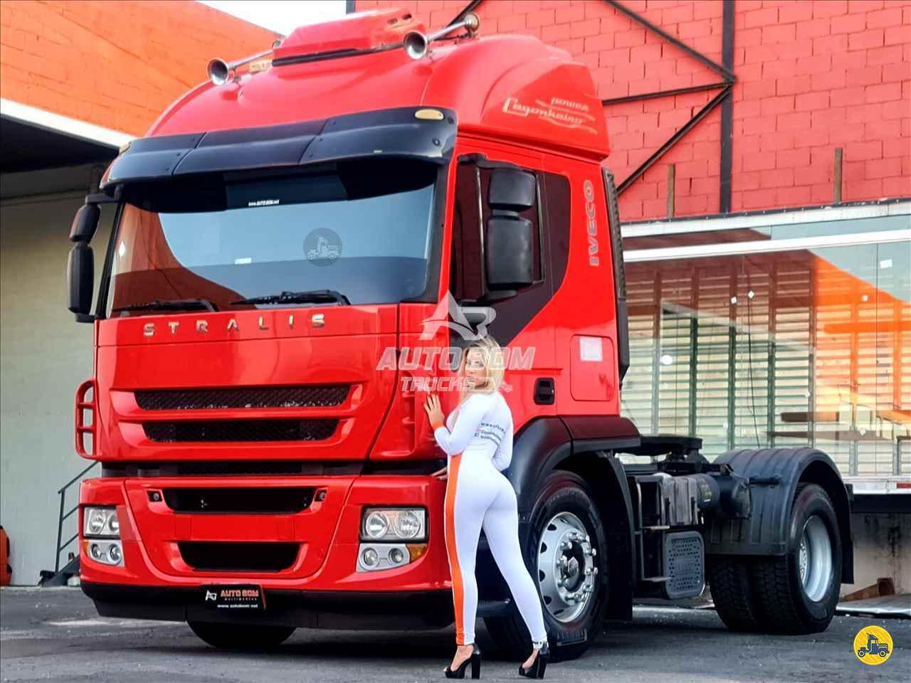 CAMINHAO IVECO STRALIS 460 Cavalo Mecânico Toco 4x2 Autobom Trucks CONTAGEM MINAS GERAIS MG