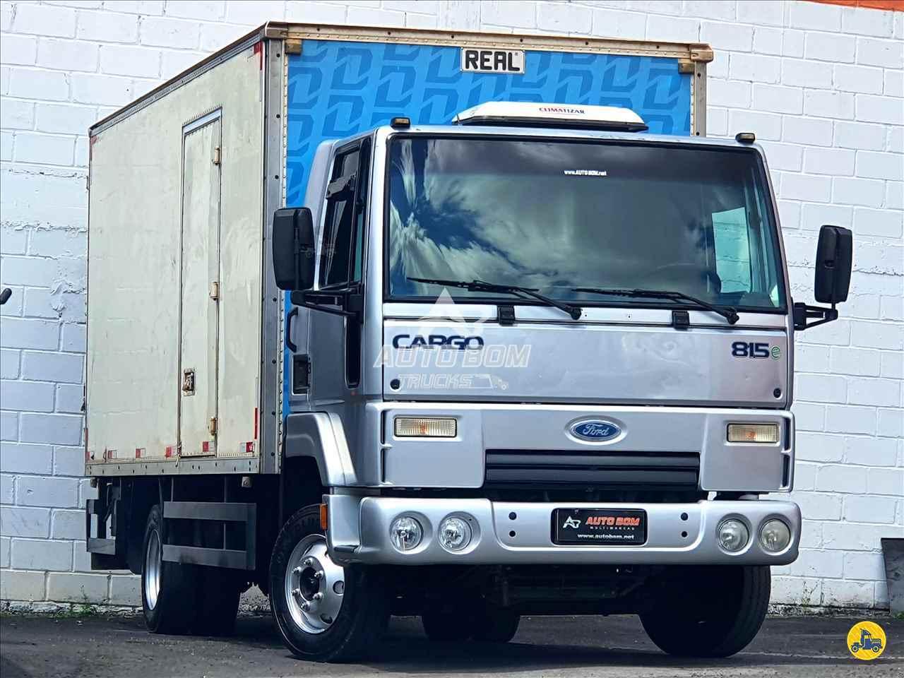 CAMINHAO FORD CARGO 815 Baú Furgão 3/4 4x2 Autobom Trucks CONTAGEM MINAS GERAIS MG
