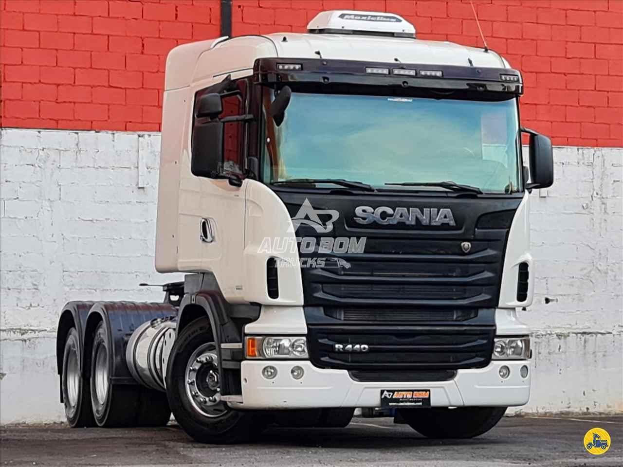 CAMINHAO SCANIA SCANIA 440 Cavalo Mecânico Traçado 6x4 Autobom Trucks CONTAGEM MINAS GERAIS MG