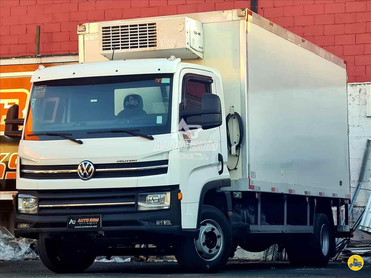 CAMINHAO VOLKSWAGEN VW 11180 Baú Frigorífico 3/4 4x2 Autobom Trucks CONTAGEM MINAS GERAIS MG