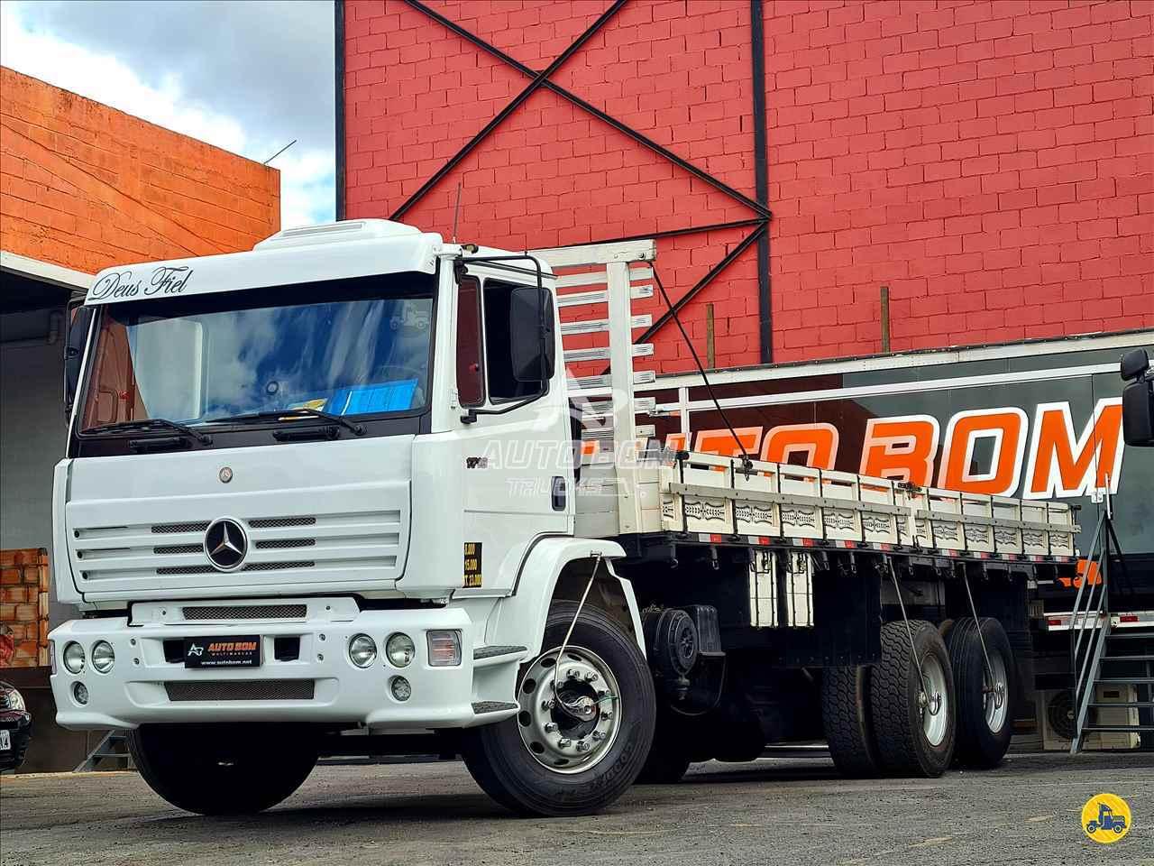 CAMINHAO MERCEDES-BENZ MB 1718 Carga Seca Truck 6x2 Autobom Trucks CONTAGEM MINAS GERAIS MG