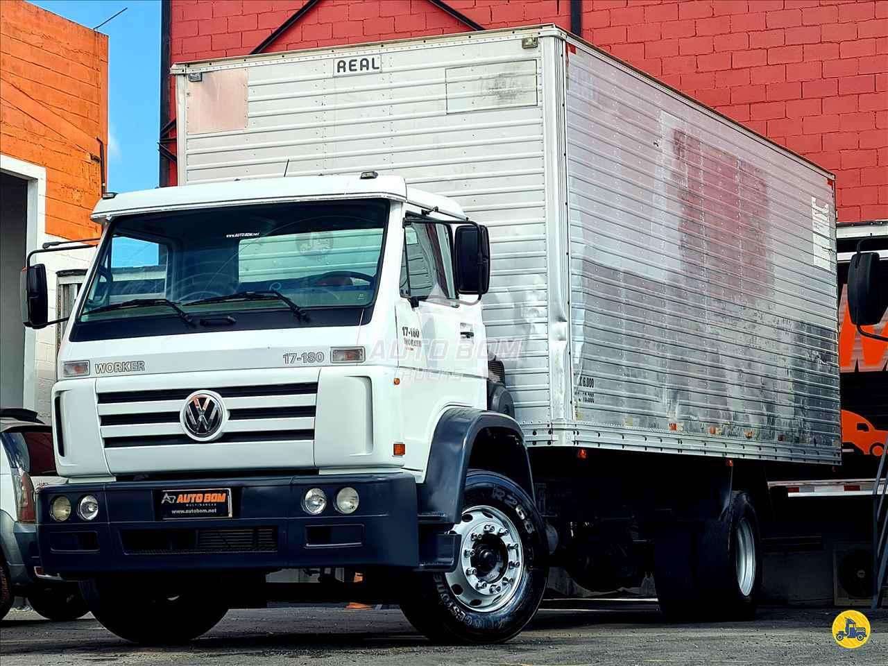 CAMINHAO VOLKSWAGEN VW 17180 Baú Furgão Toco 4x2 Autobom Trucks CONTAGEM MINAS GERAIS MG