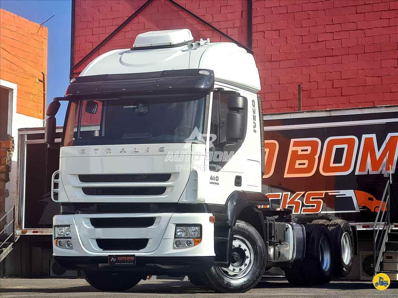 CAMINHAO IVECO STRALIS 440 Cavalo Mecânico Truck 6x2 Autobom Trucks CONTAGEM MINAS GERAIS MG