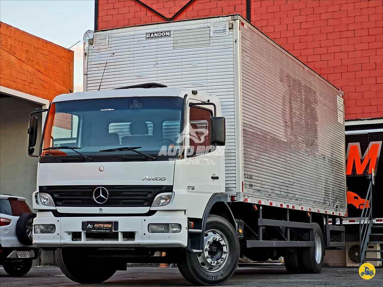CAMINHAO MERCEDES-BENZ MB 1718 Baú Furgão Toco 4x2 Autobom Trucks CONTAGEM MINAS GERAIS MG