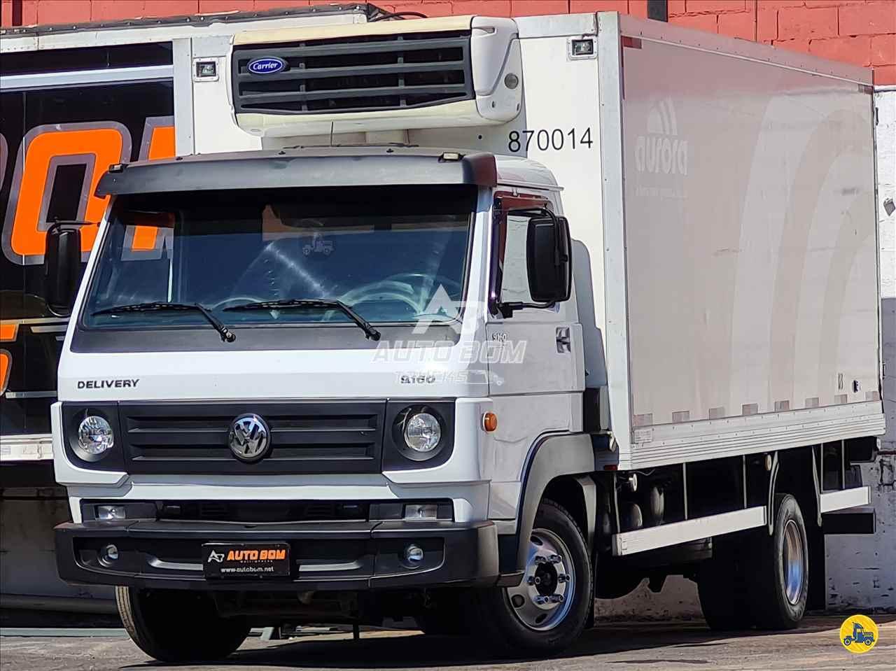 CAMINHAO VOLKSWAGEN VW 9160 Baú Frigorífico 3/4 4x2 Autobom Trucks CONTAGEM MINAS GERAIS MG