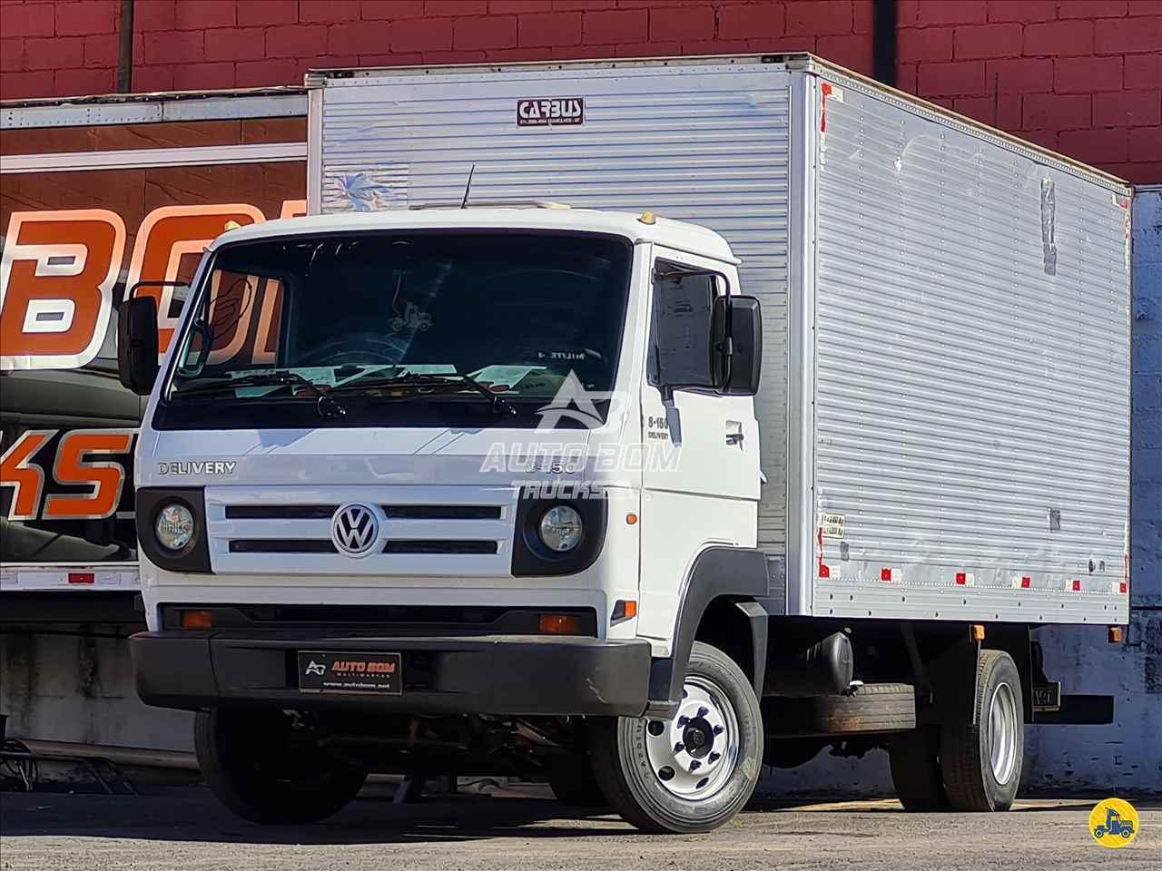 CAMINHAO VOLKSWAGEN VW 8150 Baú Furgão 3/4 4x2 Autobom Trucks CONTAGEM MINAS GERAIS MG