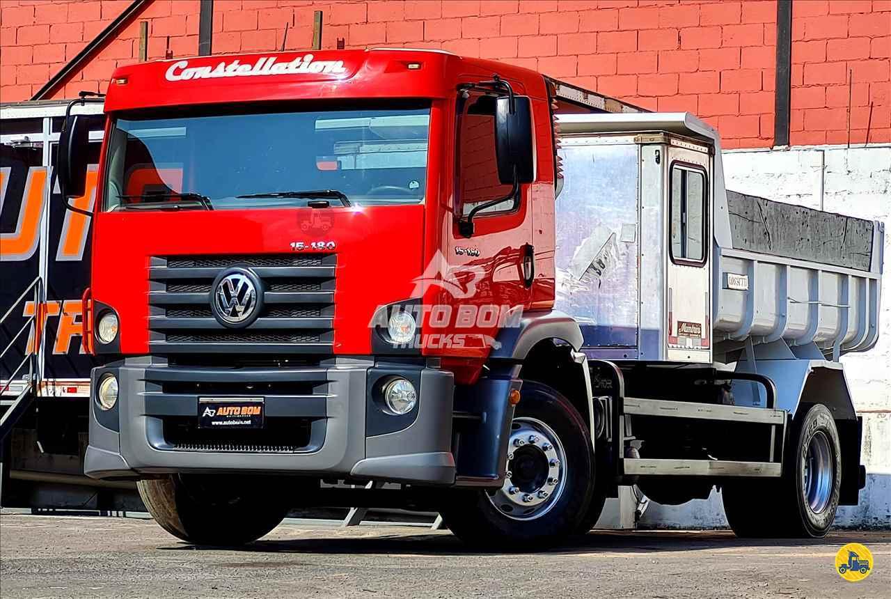 CAMINHAO VOLKSWAGEN VW 15180 Caçamba Cabine Suplementar Toco 4x2 Autobom Trucks CONTAGEM MINAS GERAIS MG