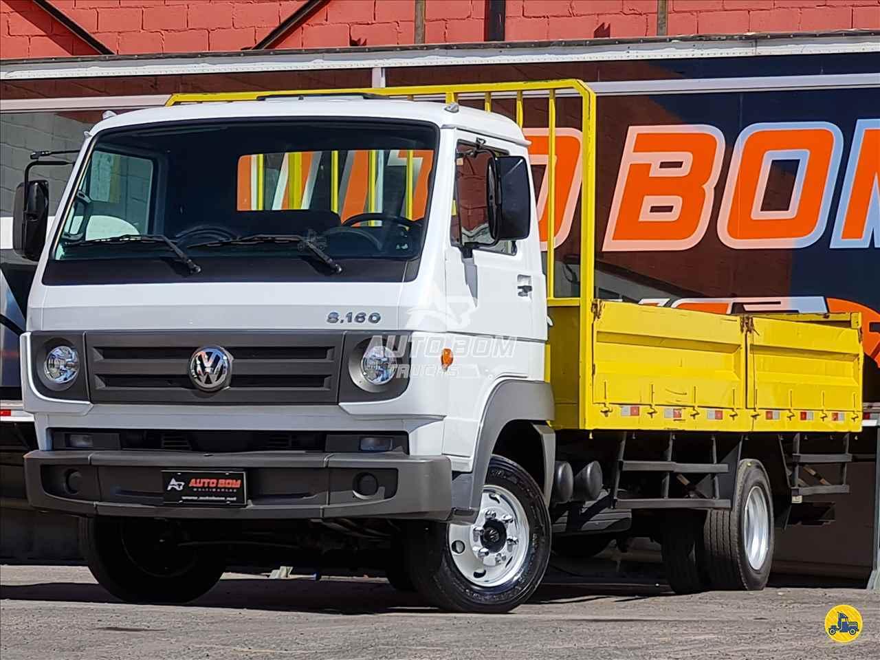 CAMINHAO VOLKSWAGEN VW 8160 Carga Seca 3/4 4x2 Autobom Trucks CONTAGEM MINAS GERAIS MG