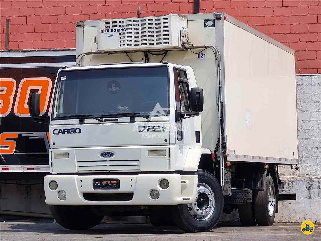 CAMINHAO FORD CARGO 1722 Baú Térmico Toco 4x2 Autobom Trucks CONTAGEM MINAS GERAIS MG