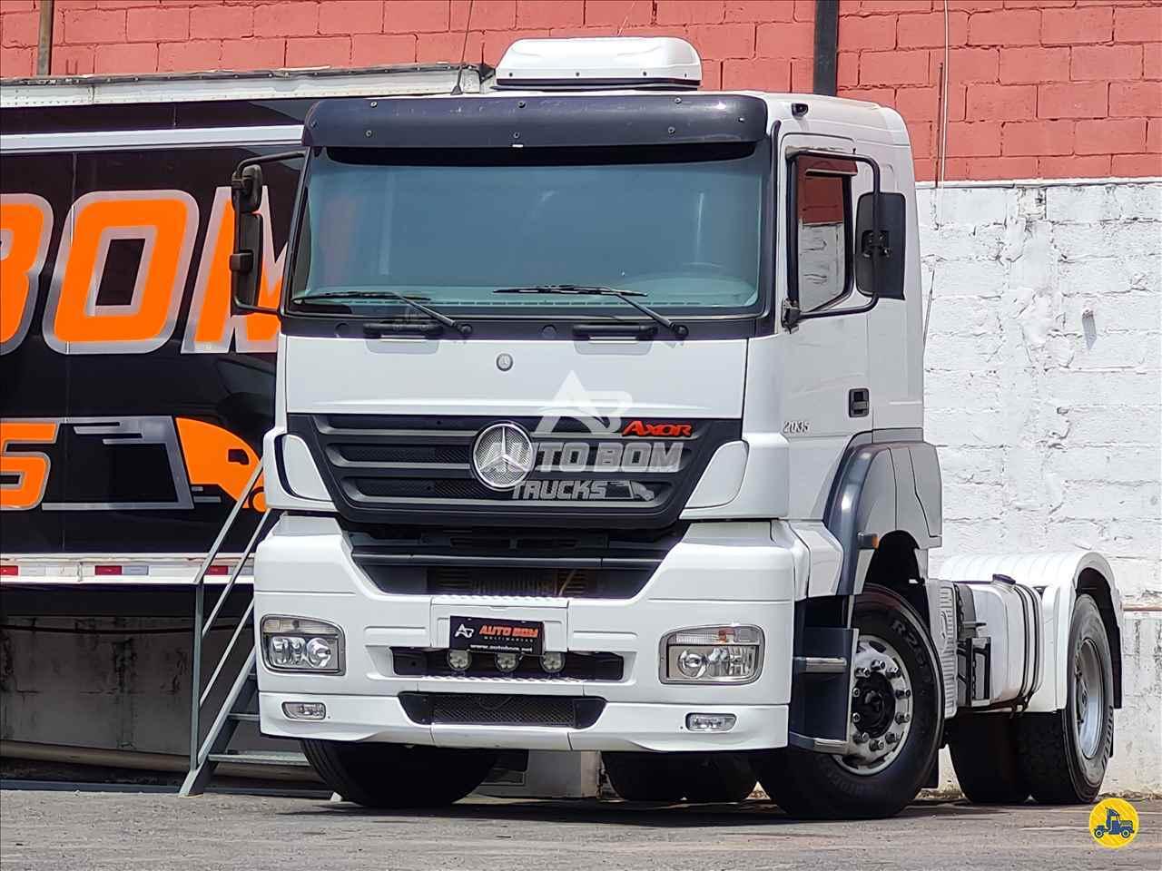 CAMINHAO MERCEDES-BENZ MB 2035 Chassis Toco 4x2 Autobom Trucks CONTAGEM MINAS GERAIS MG