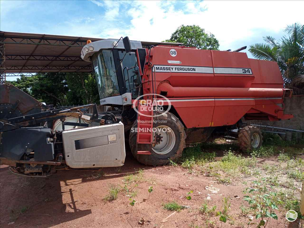 COLHEITADEIRA MASSEY FERGUSON MF 34 Grão de Ouro Máquinas Agrícolas PALMAS TOCANTINS TO