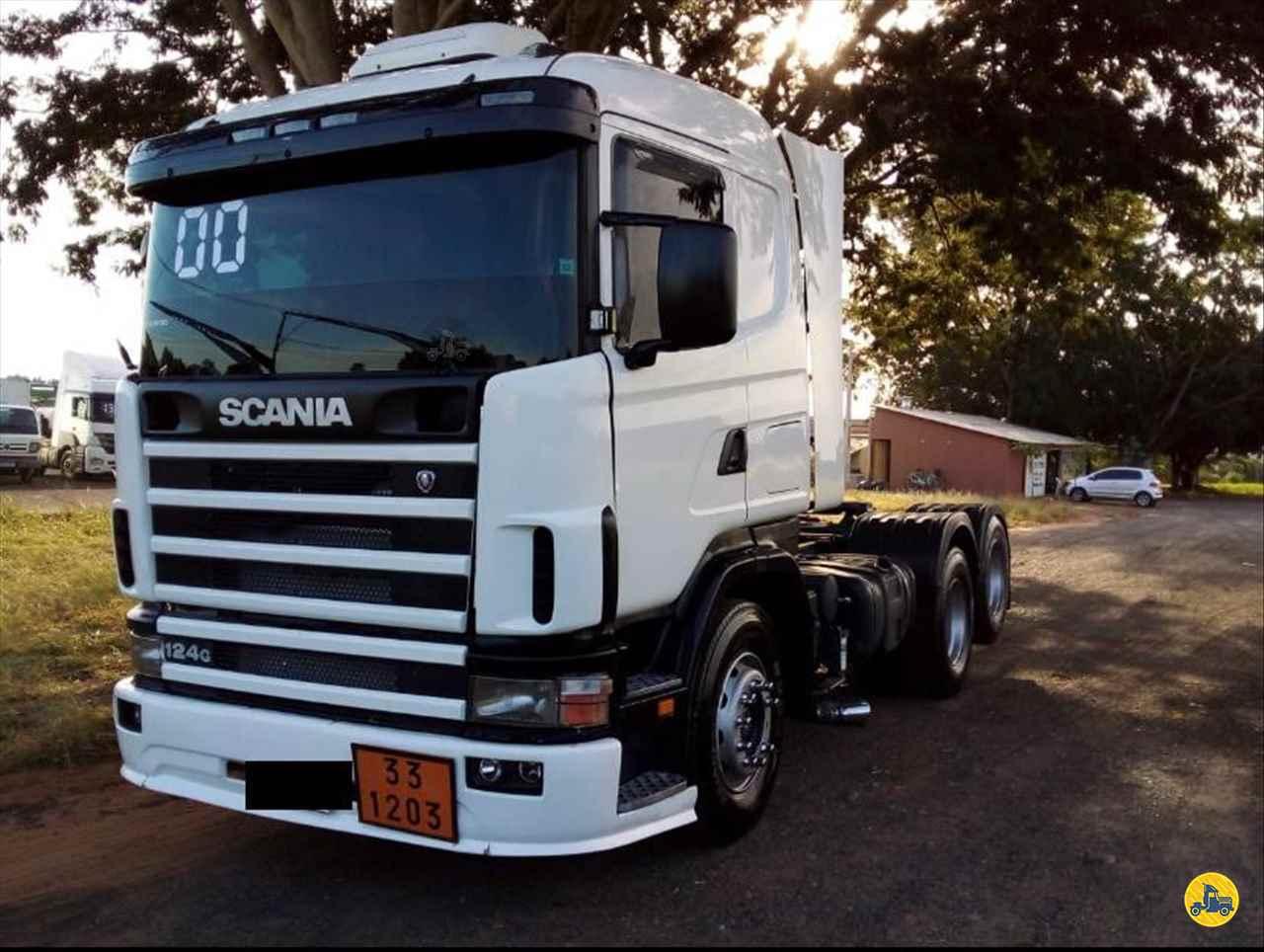CAMINHAO SCANIA SCANIA 124 420 Cavalo Mecânico Truck 6x2 Riva Carretas CATANDUVA SÃO PAULO SP