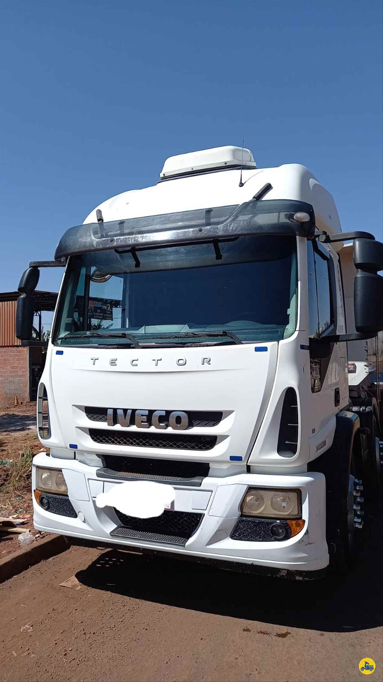 CAMINHAO IVECO TECTOR 240E25 Caçamba Basculante BiTruck 8x2 Porssionatto Caminhões RIO VERDE GOIAS GO