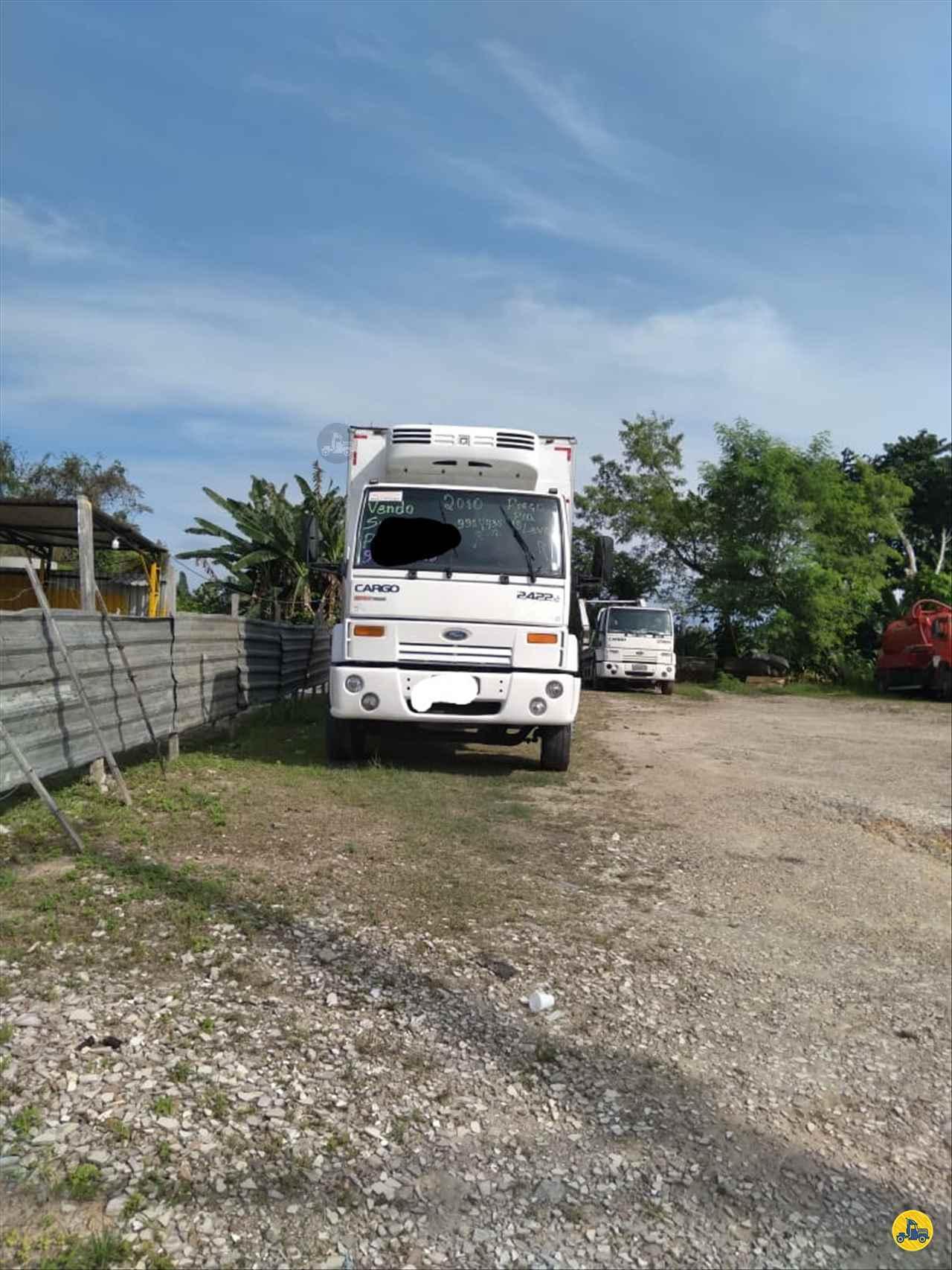 CAMINHAO FORD CARGO 2422 Baú Frigorífico Truck 6x2 Porssionatto Caminhões RIO VERDE GOIAS GO