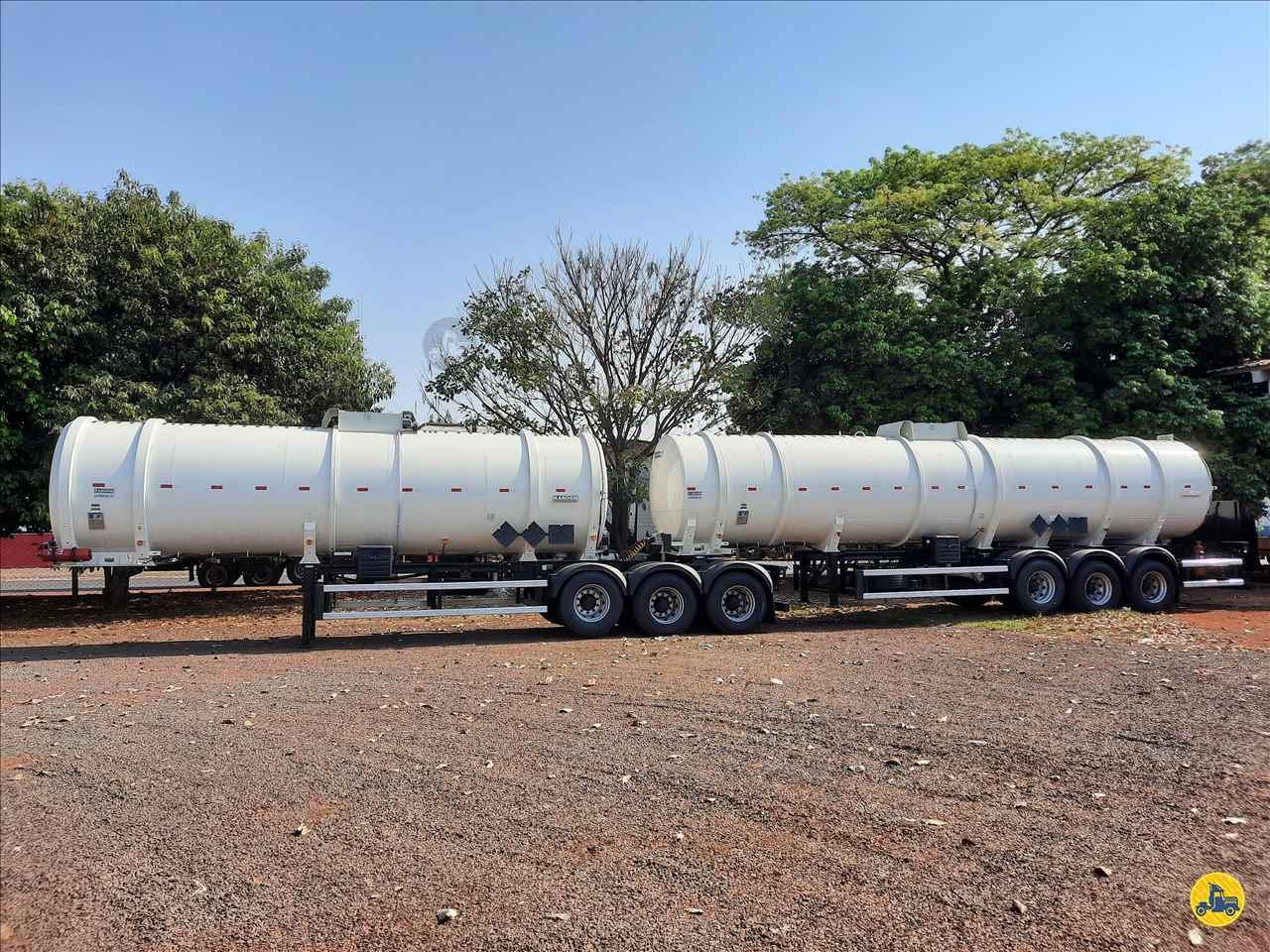 CARRETA BITREM 9 EIXOS TANQUE AÇO Porssionatto Caminhões RIO VERDE GOIAS GO
