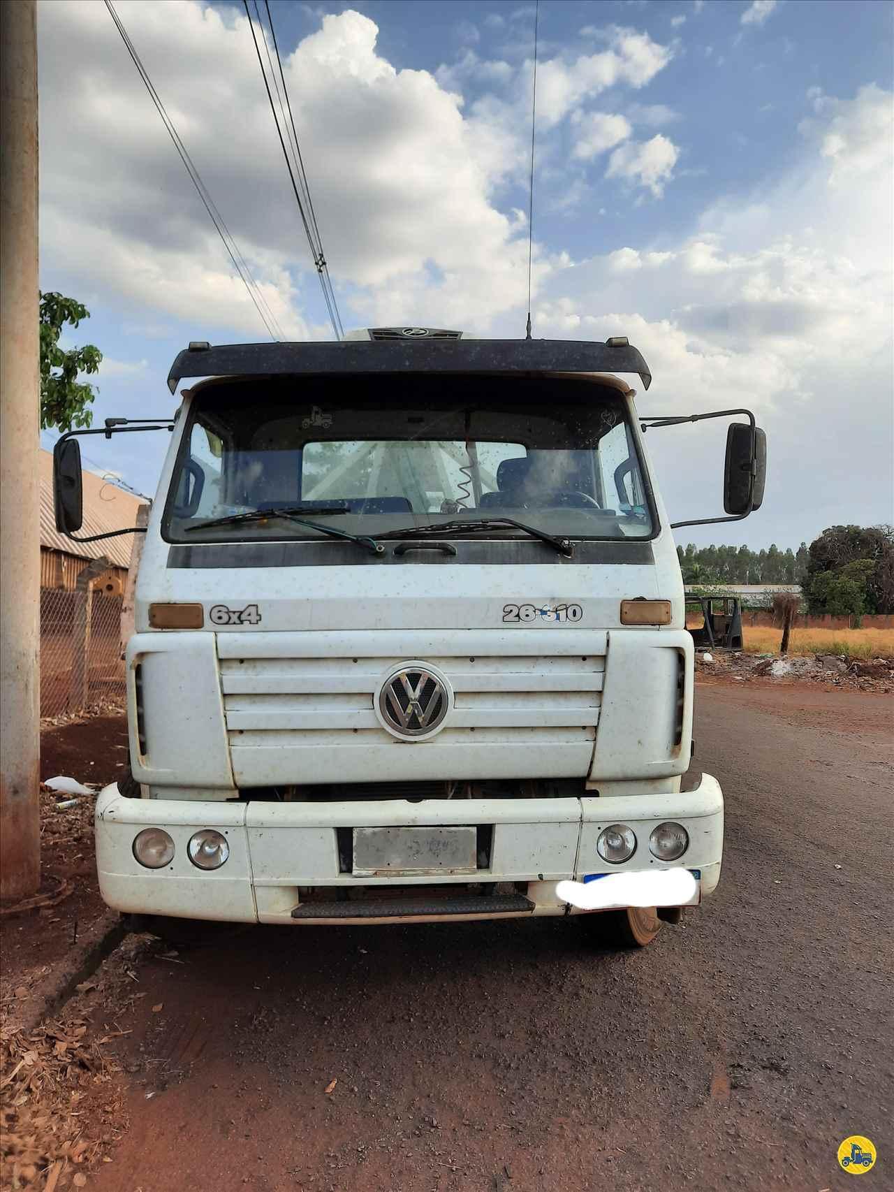 CAMINHAO VOLKSWAGEN VW 26310 Roll ON OFF Traçado 6x4 Porssionatto Caminhões RIO VERDE GOIAS GO