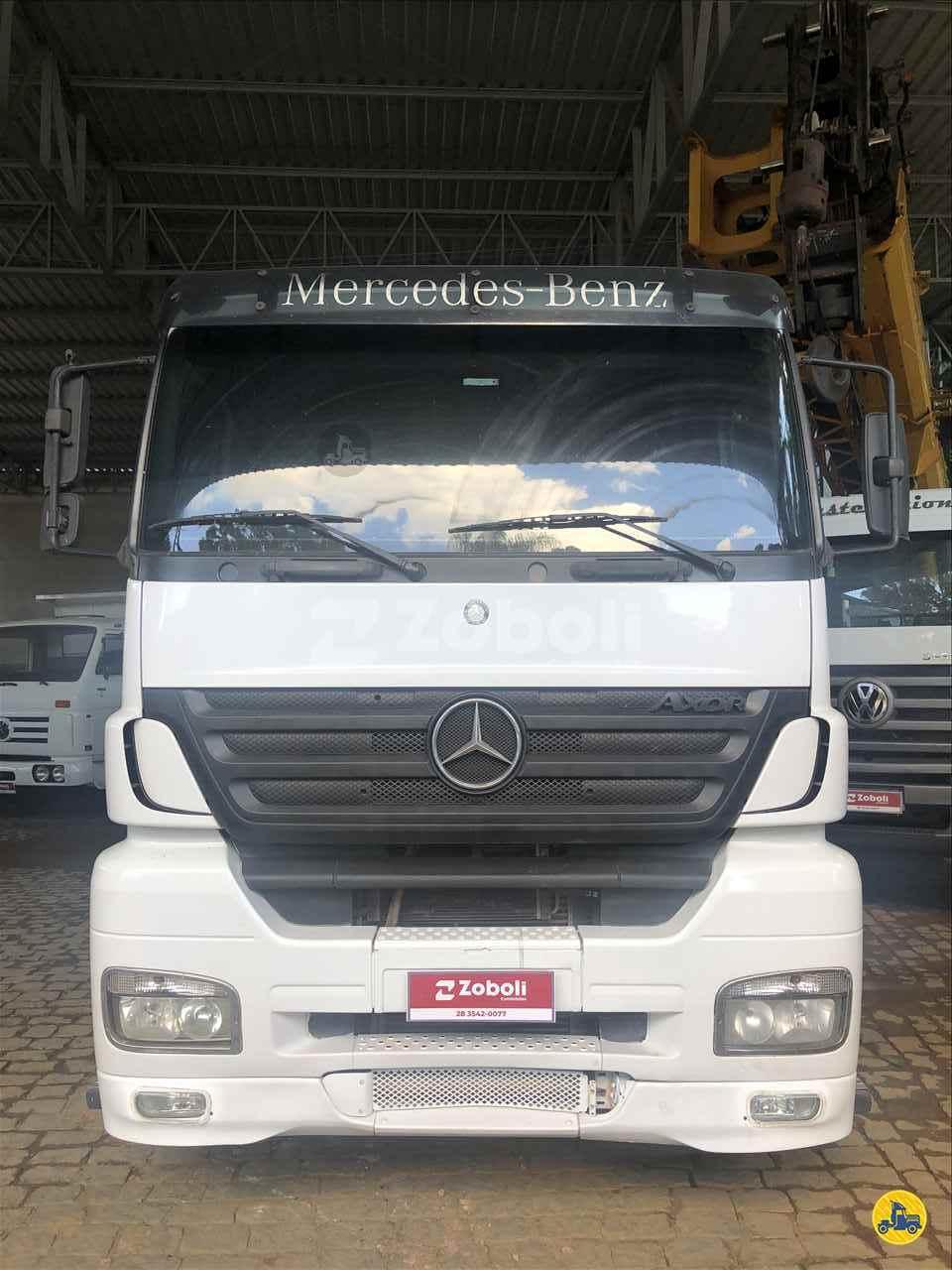 CAMINHAO MERCEDES-BENZ MB 2540 Cavalo Mecânico Traçado 6x4 Zoboli Caminhões CASTELO ESPÍRITO SANTO ES