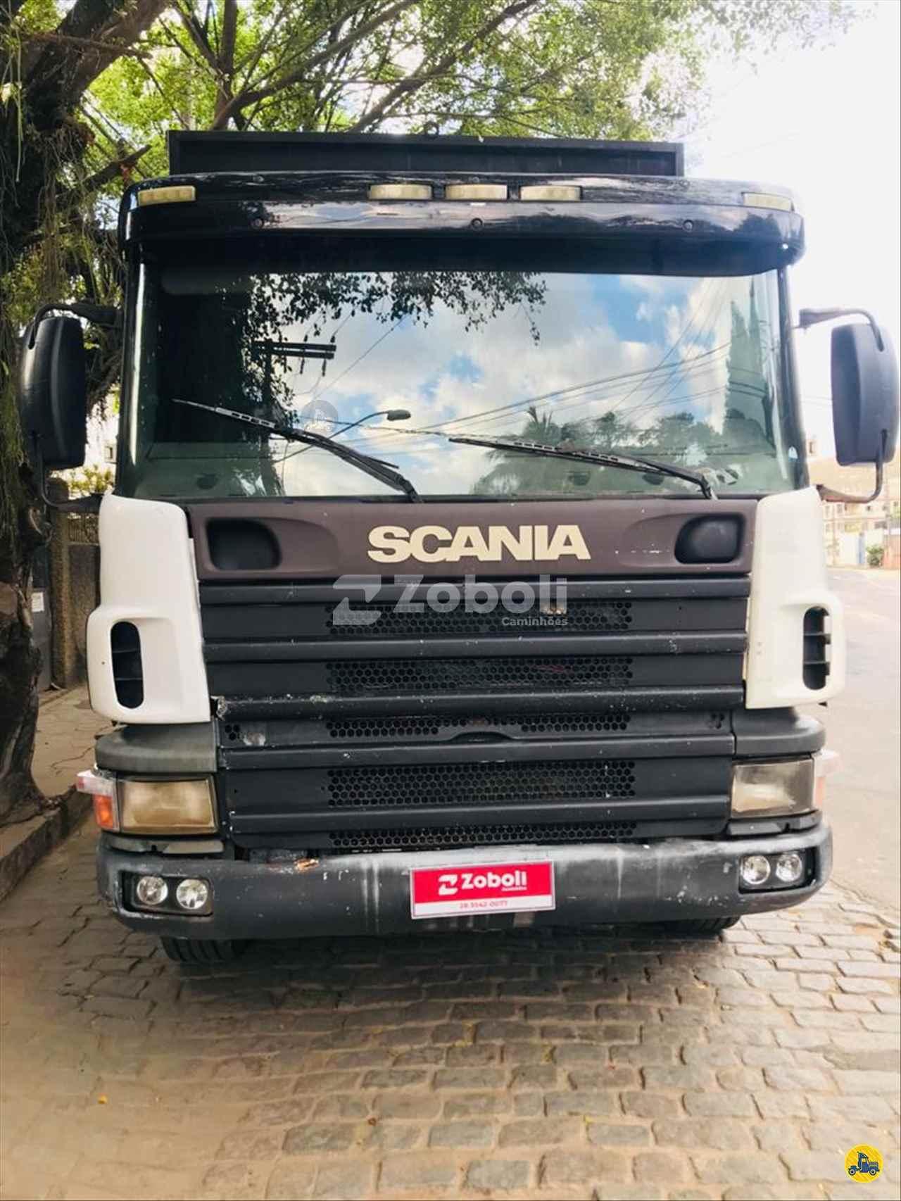 CAMINHAO SCANIA SCANIA 124 360 Tora Florestal BiTruck 8x4 Zoboli Caminhões CASTELO ESPÍRITO SANTO ES