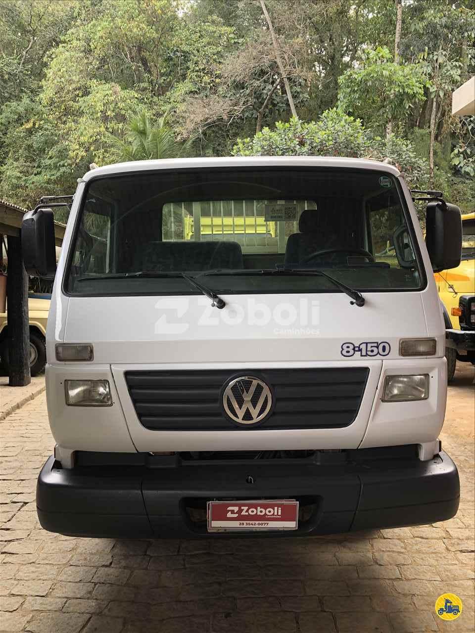 CAMINHAO VOLKSWAGEN VW 8150 Carga Seca Toco 4x2 Zoboli Caminhões CASTELO ESPÍRITO SANTO ES