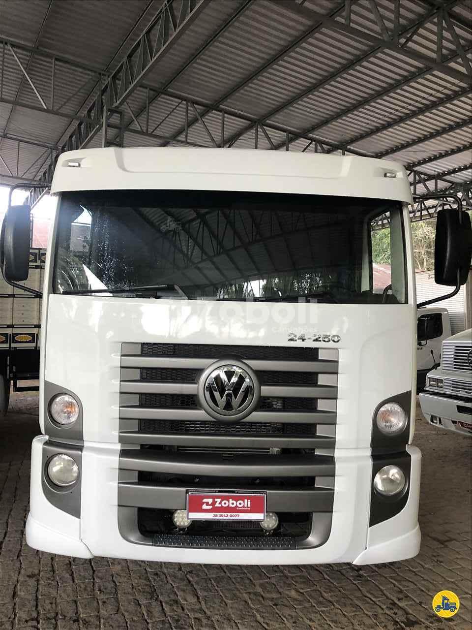 CAMINHAO VOLKSWAGEN VW 24250 Chassis Truck 6x2 Zoboli Caminhões CASTELO ESPÍRITO SANTO ES