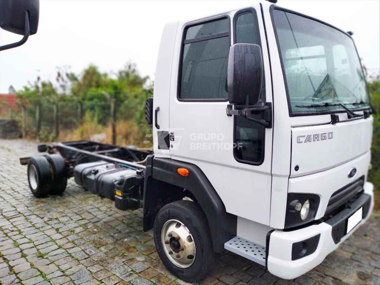 CAMINHAO FORD CARGO 1119 Chassis 3/4 4x2 Breitkopf Veículos - VW ITAJAI SANTA CATARINA SC
