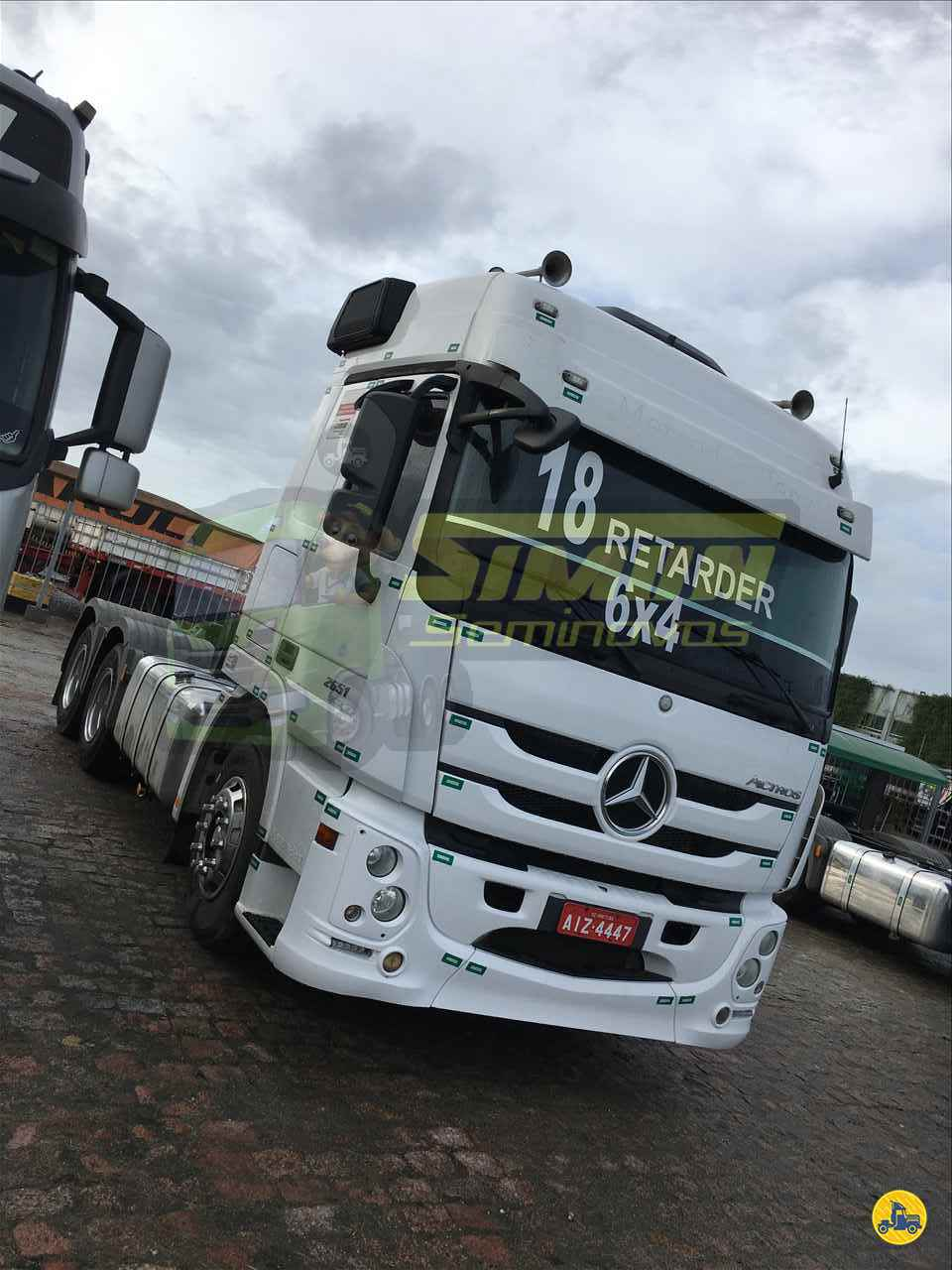 CAMINHAO MERCEDES-BENZ MB 2651 Chassis Truck 6x2 Simon Seminovos IMBITUBA SANTA CATARINA SC