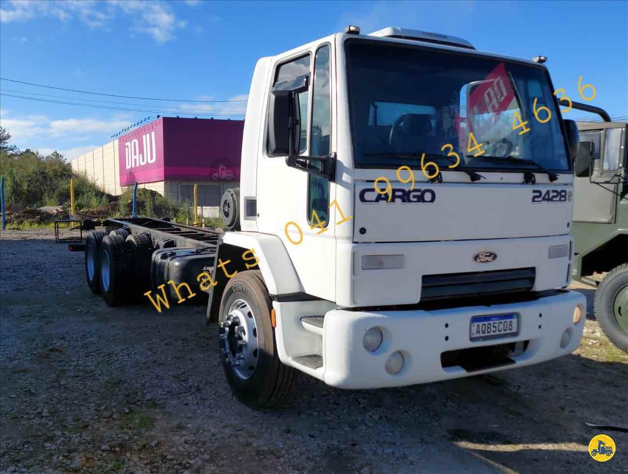 CAMINHAO FORD CARGO 2428 Chassis Truck 6x2 CRM Caminhões Curitiba CAMPINA GRANDE DO SUL PARANÁ PR