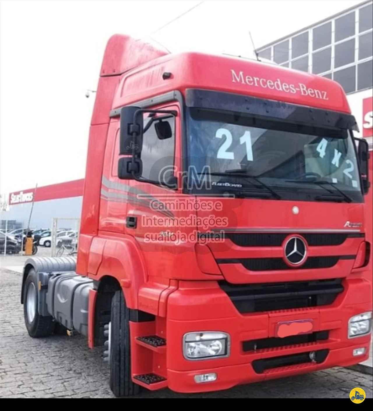 CAMINHAO MERCEDES-BENZ MB 2041 Cavalo Mecânico Toco 4x2 CRM Caminhões Curitiba CAMPINA GRANDE DO SUL PARANÁ PR