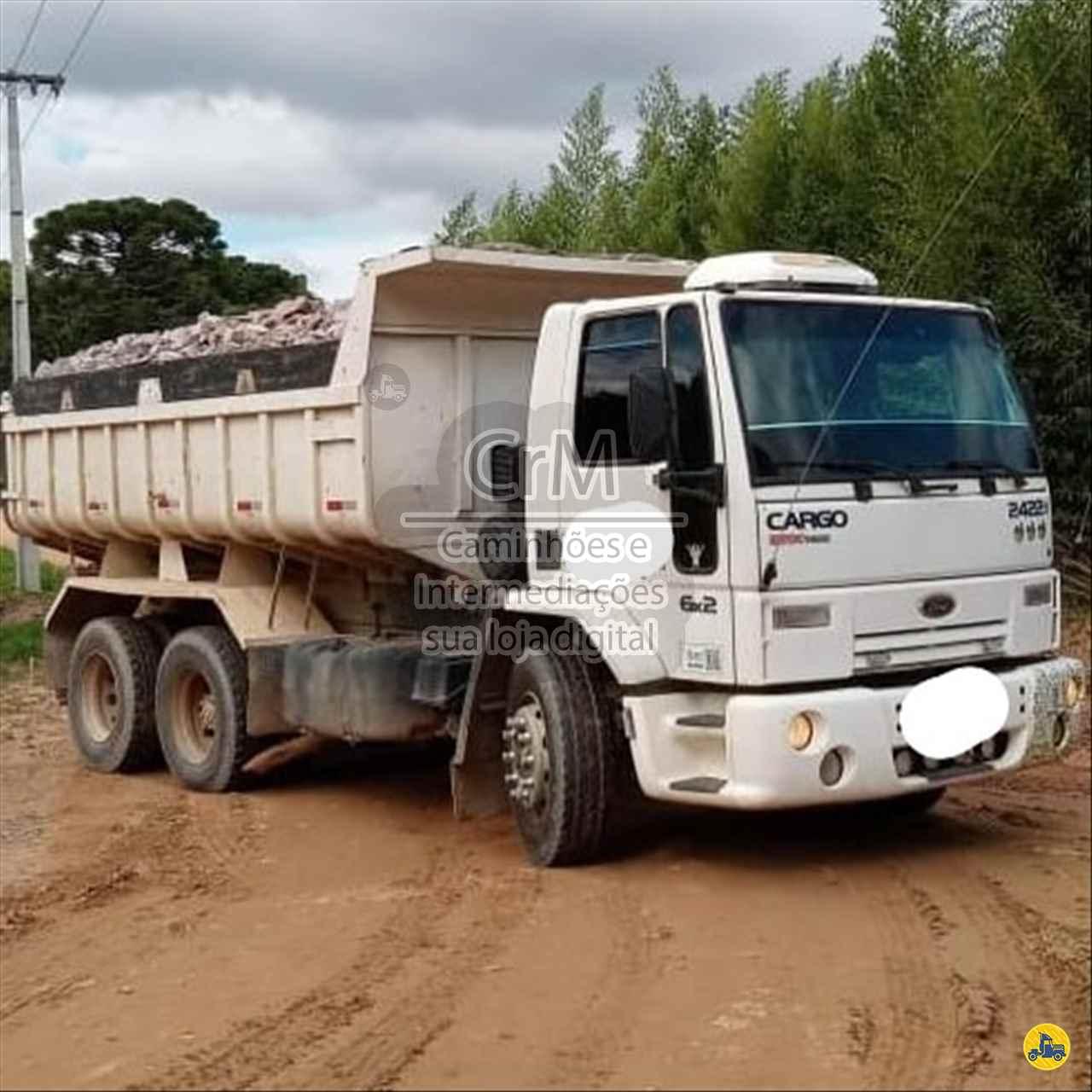 CAMINHAO FORD CARGO 2422 Caçamba Basculante Truck 6x2 CRM Caminhões Curitiba CAMPINA GRANDE DO SUL PARANÁ PR
